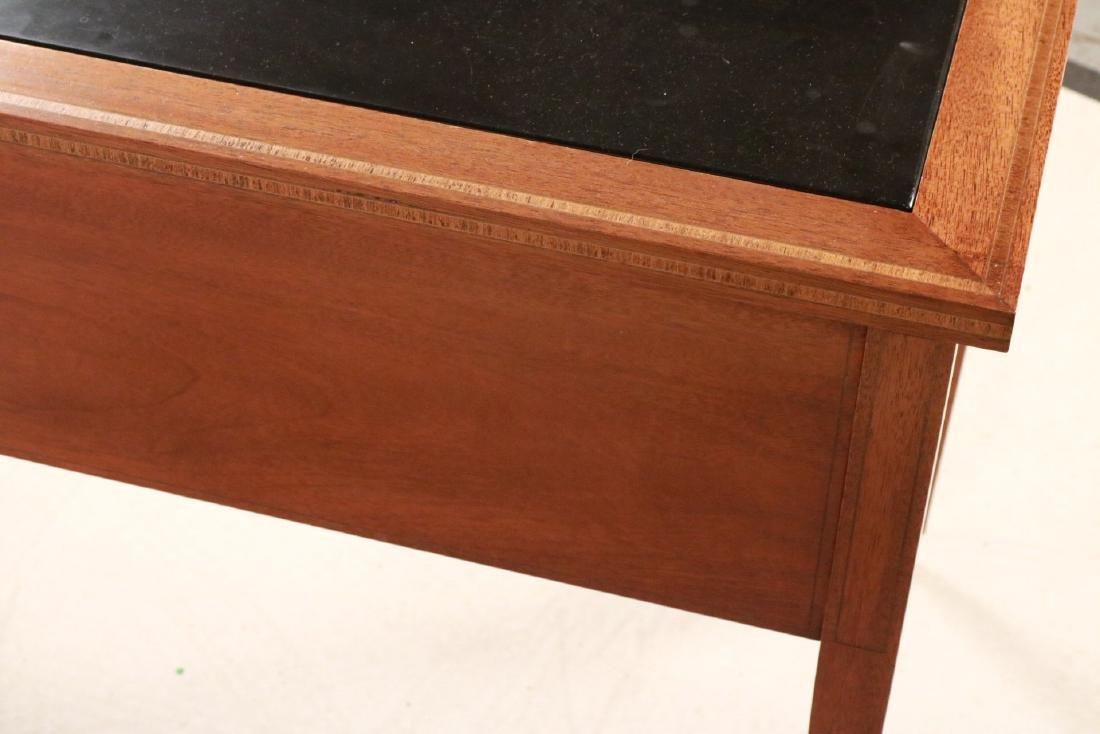 Federal Style Stone-Inset Mahogany Writing Desk - 10