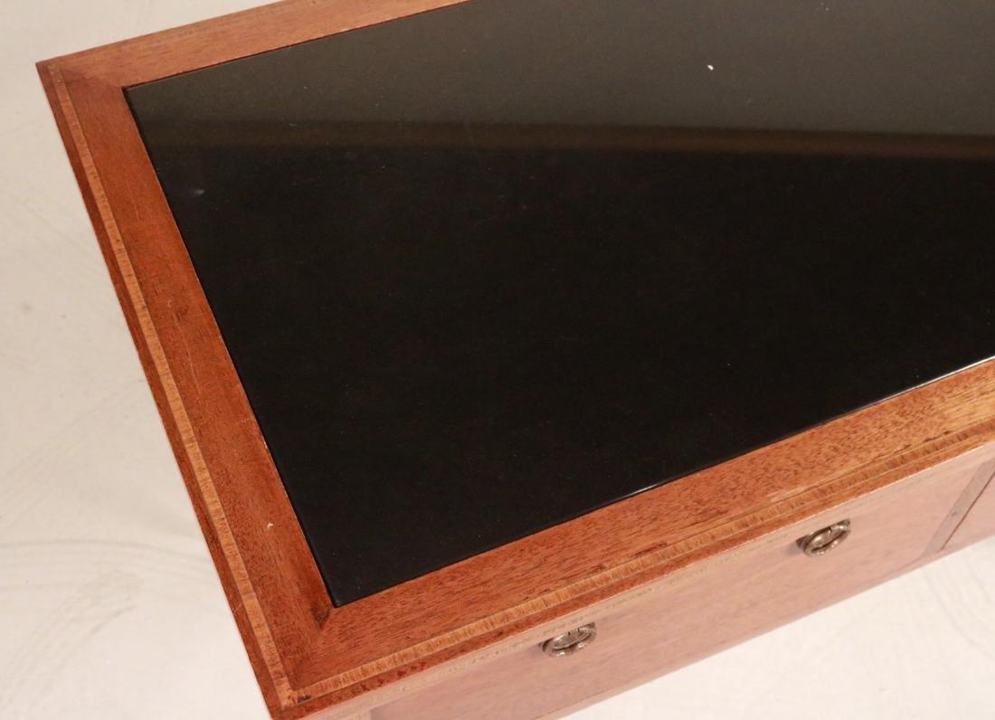 Federal Style Stone-Inset Mahogany Writing Desk - 2
