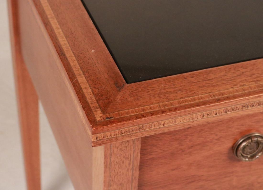 Federal Style Stone-Inset Mahogany Writing Desk - 3