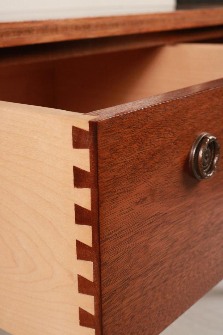 Federal Style Stone-Inset Mahogany Writing Desk - 7
