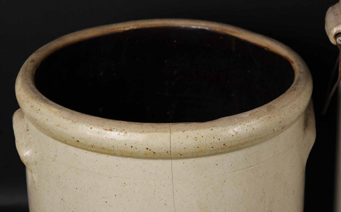 Three Stoneware Crocks - 7