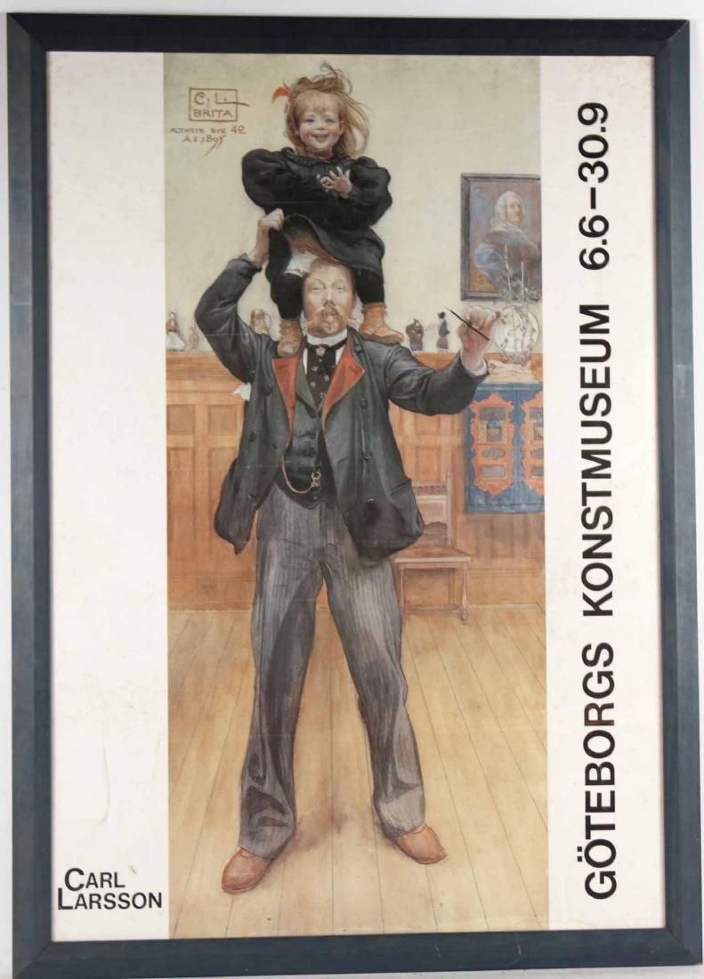 Poster Print, Goteborgs Konstumseum 6.6-30.9