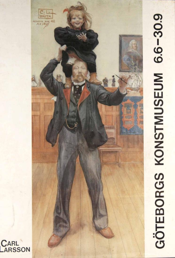 Poster Print, Goteborgs Konstumseum 6.6-30.9 - 2