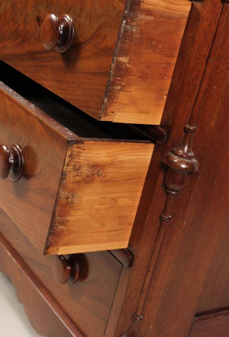 Victorian Mahogany Chest of Drawers - 5