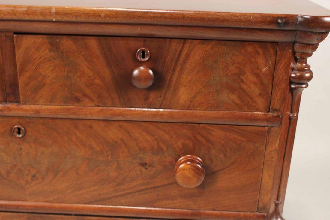 Victorian Mahogany Chest of Drawers - 6