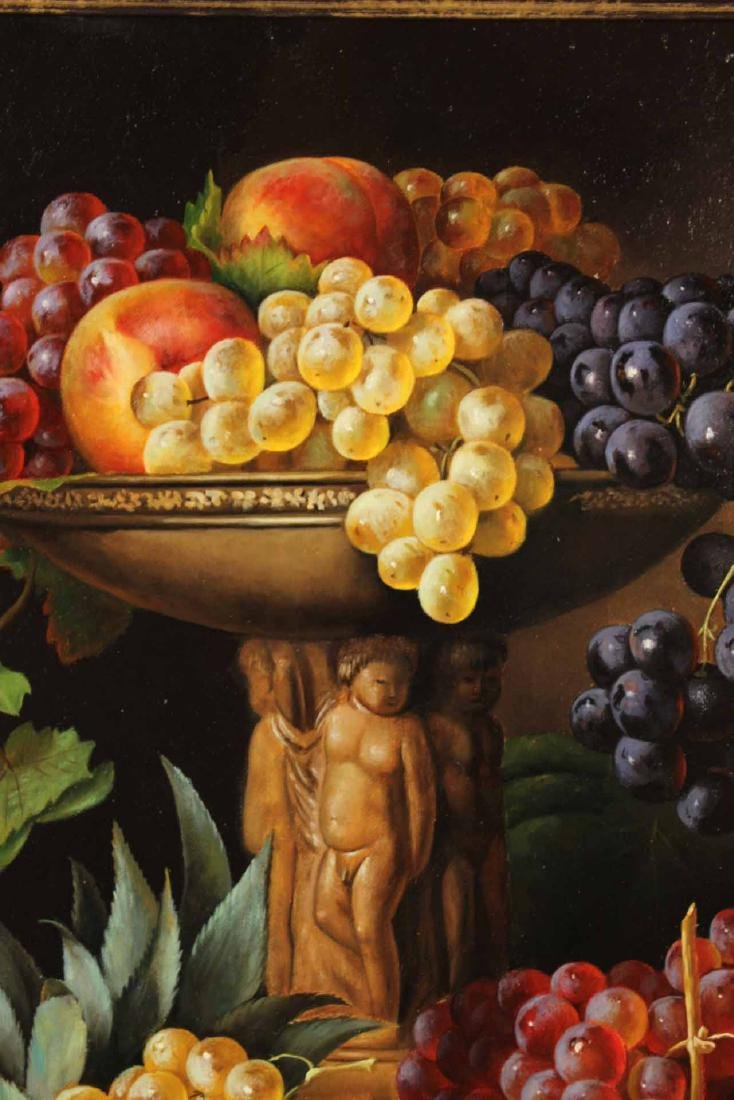 Oil on Canvas, Still Life of Fruit, S. Lee - 6