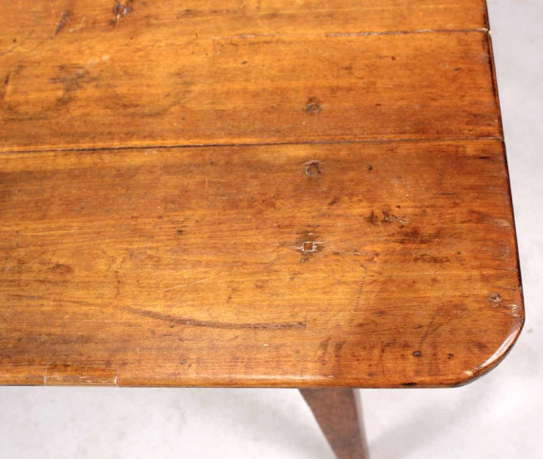 Stained Pine Center Table - 6
