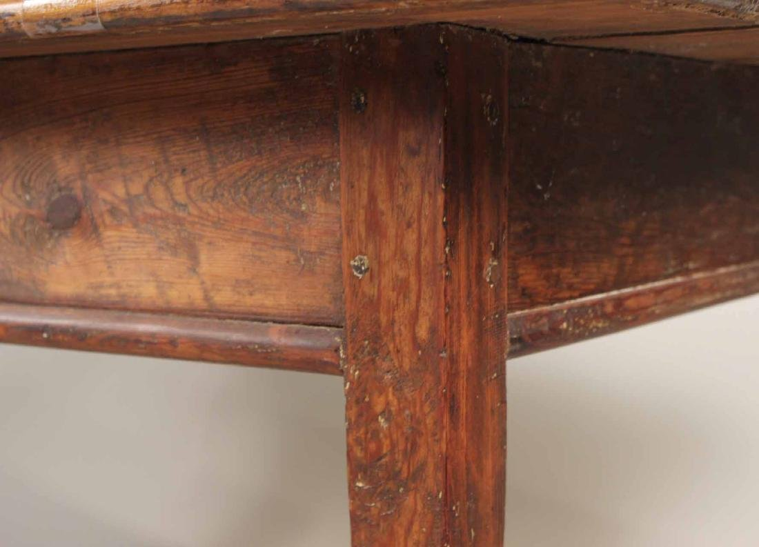 Stained Pine Center Table - 9