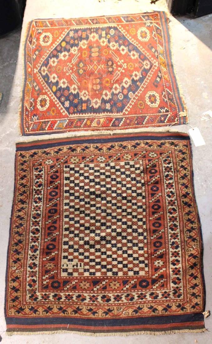 Two Caucasian Prayer Rugs