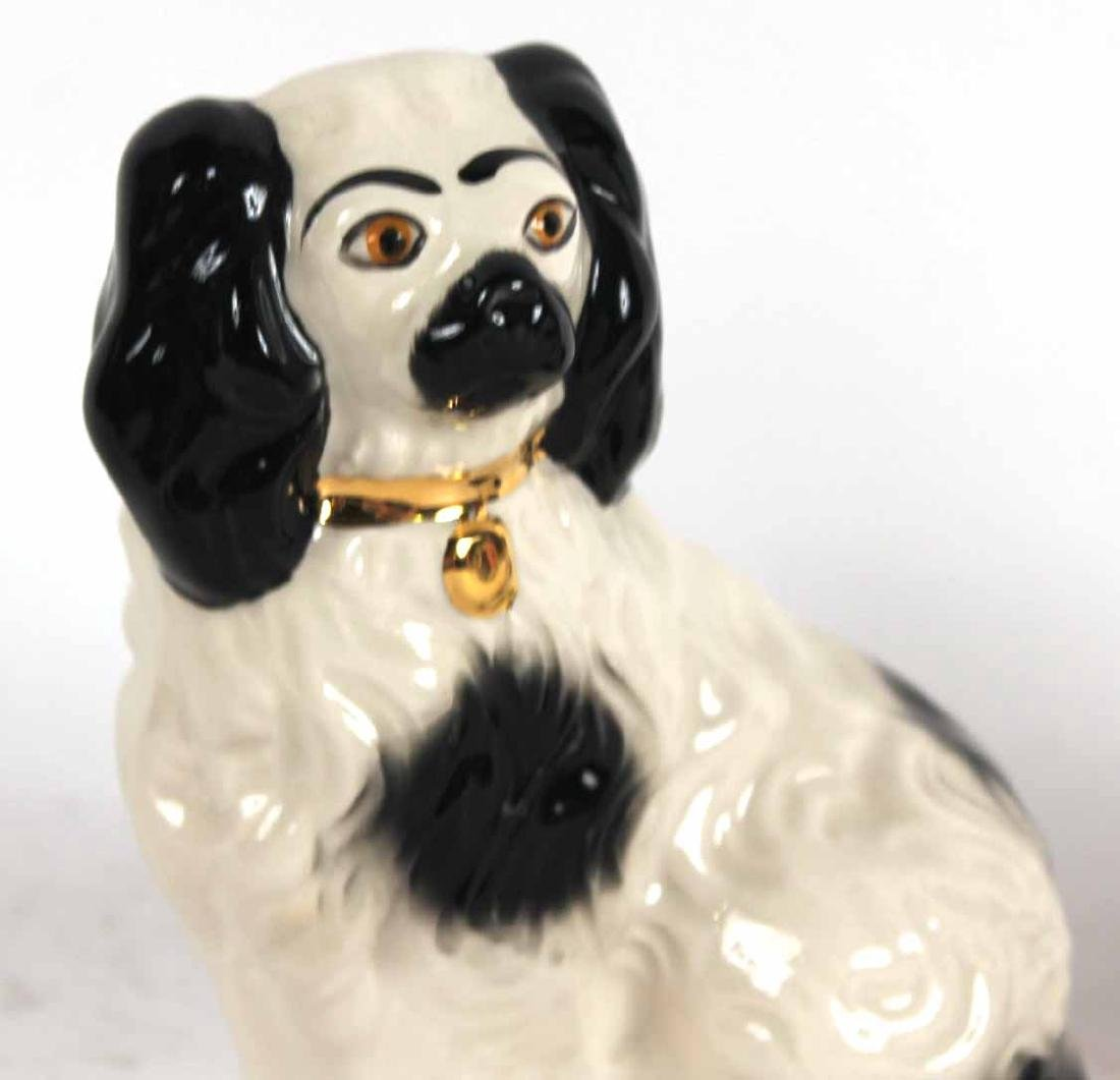 Four Staffordshire Porcelain Dogs - 7