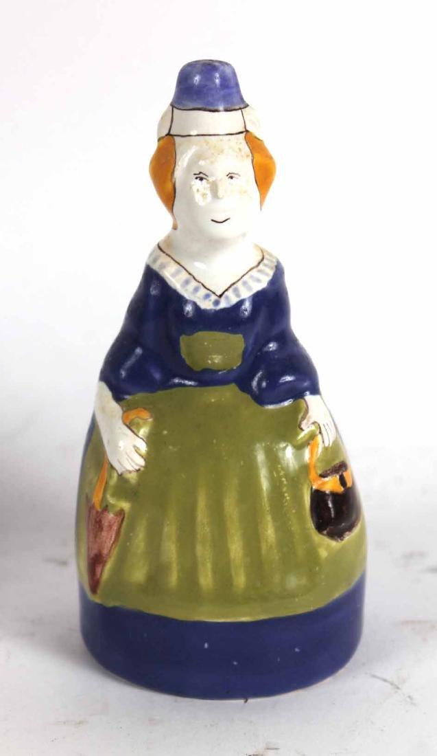 Group of Quimper Ceramic Figures - 4
