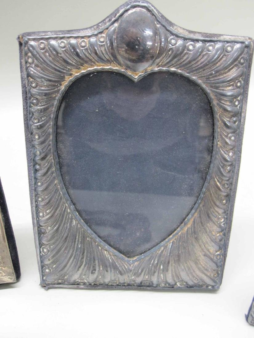 SIX ASSORTED SILVER PICTURE FRAMES - 3