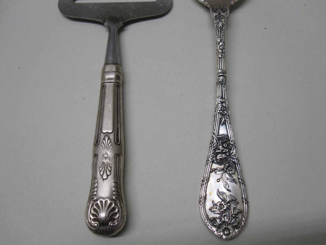 "GORHAM STERLING SILVER ""DAUPHIN"" SERVING SPOON - 3"