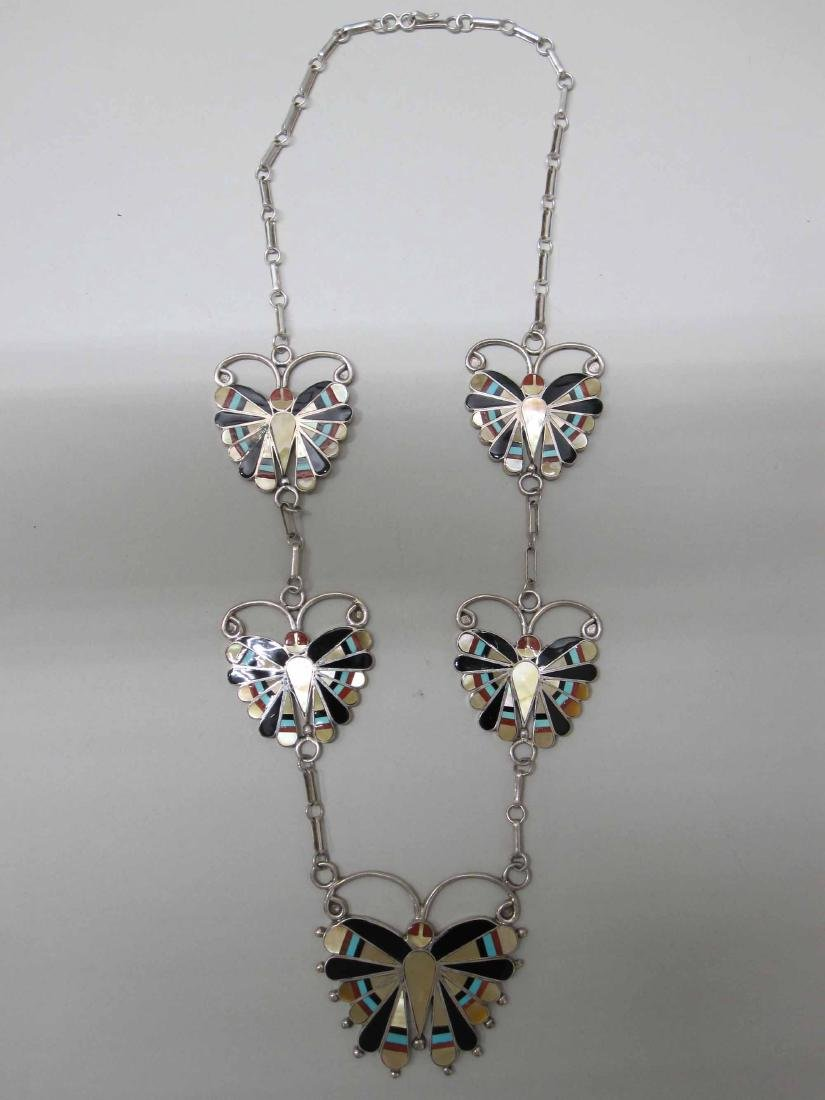 STERLING SILVER BUTTERFLY NECKLACE - 3