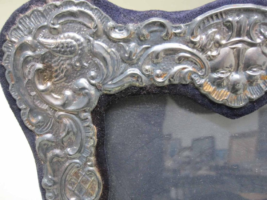 SIX ASSORTED SILVER PICTURE FRAMES - 2