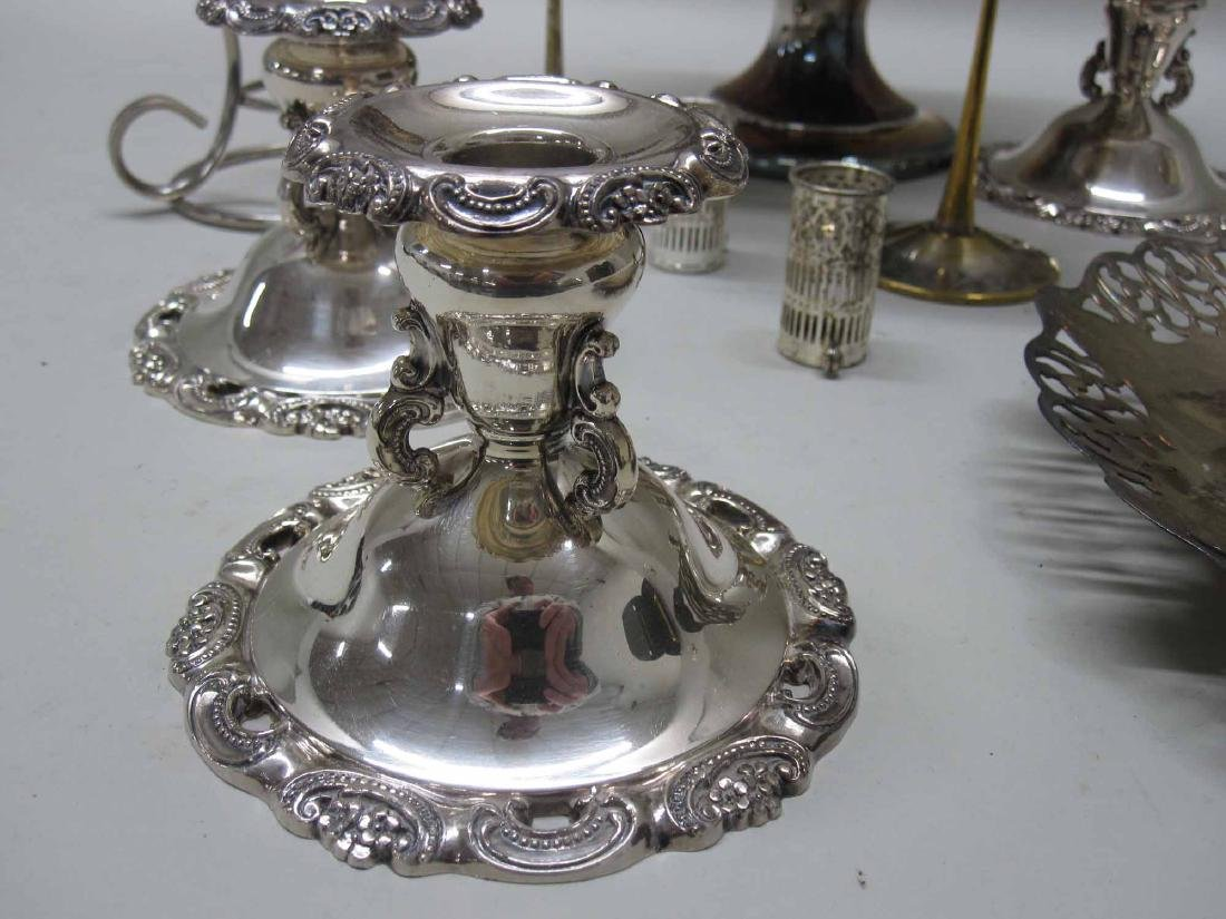 GROUP OF ASSORTED SILVER PLATED TABLE ARTICLES - 2