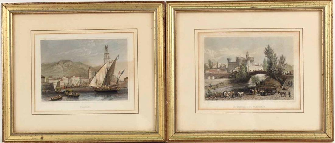 TWO FRENCH PRINTS BY ADOLPHE ROOUARGUE