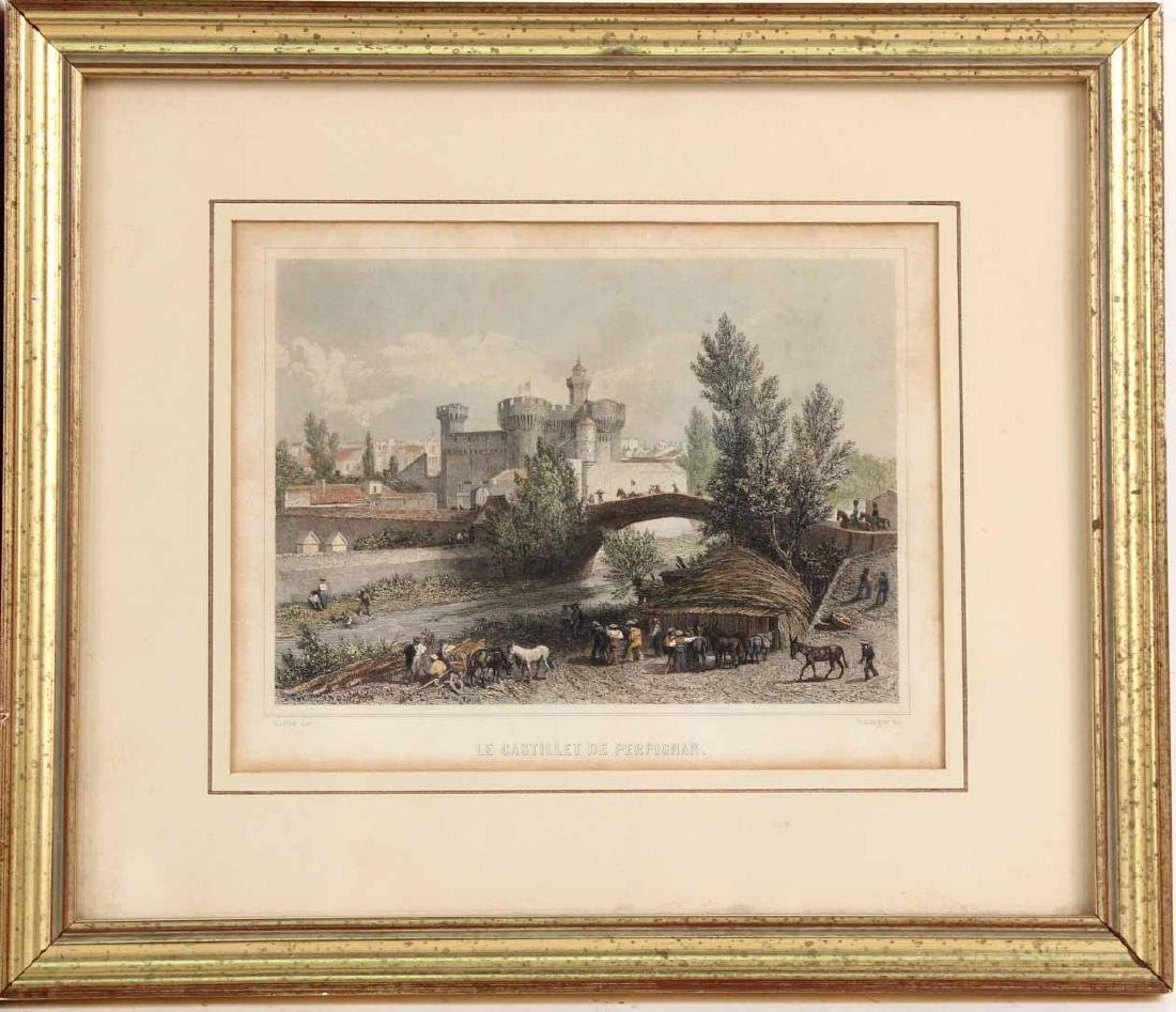 TWO FRENCH PRINTS BY ADOLPHE ROOUARGUE - 2