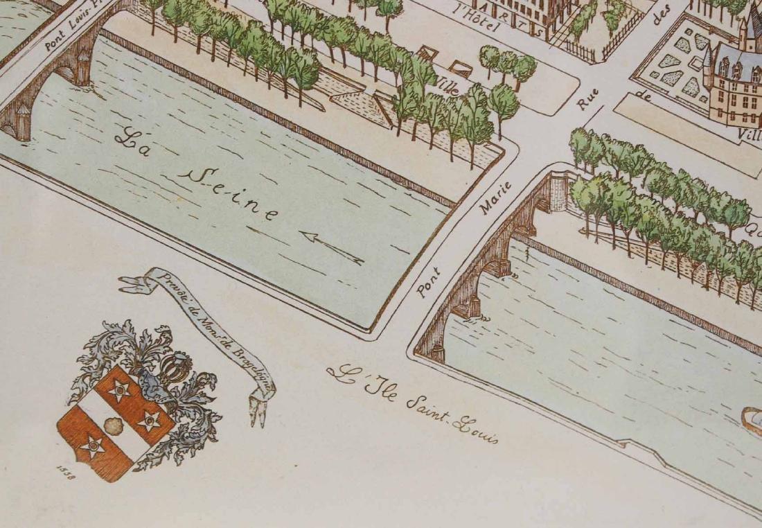 MAP OF CARTE PARTICULIERE DELISLE DE FRANCE - 10