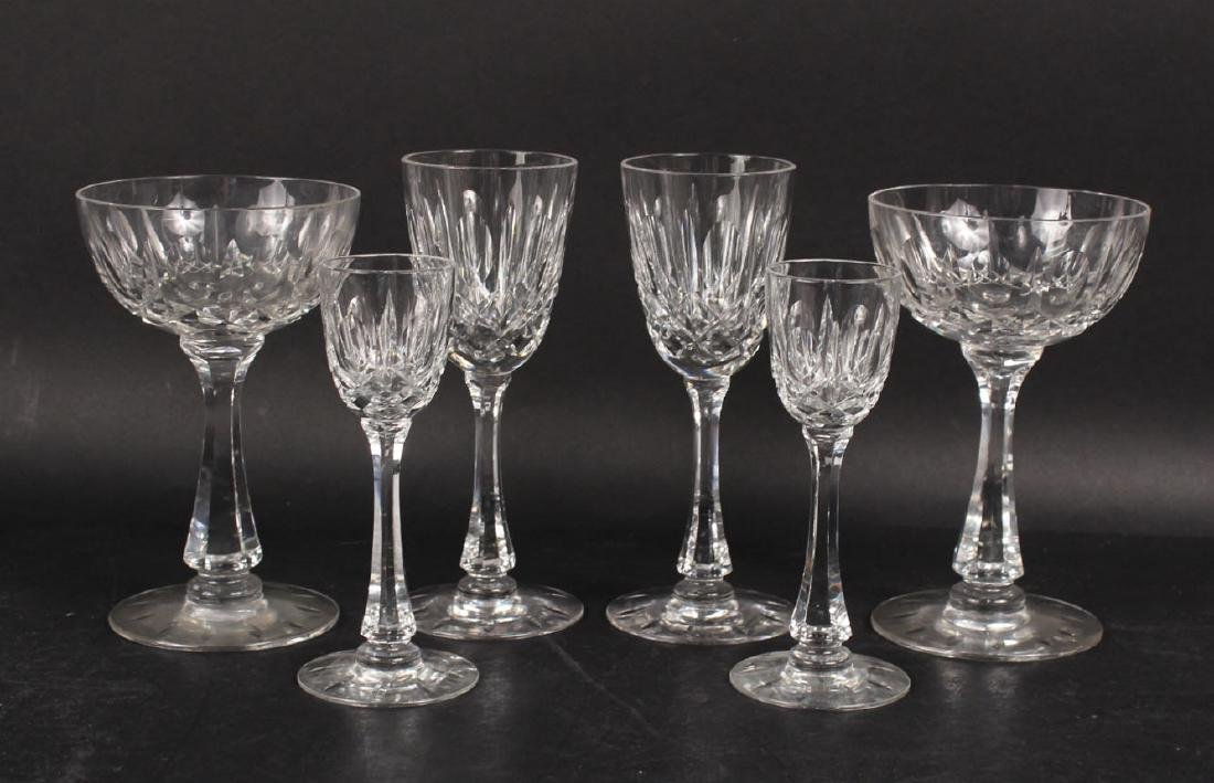 GROUP OF HAWKES STEMWARE