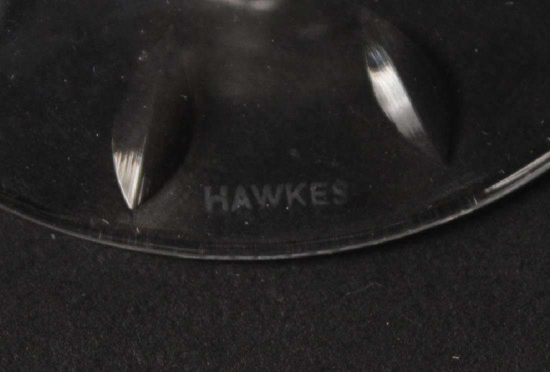 GROUP OF HAWKES STEMWARE - 5