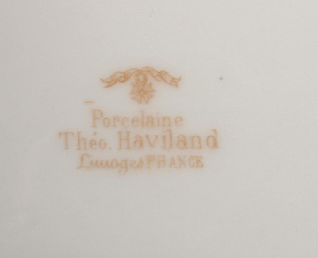 PARTIAL SET OF HAVILAND LIMOGES DINNERWARE - 3