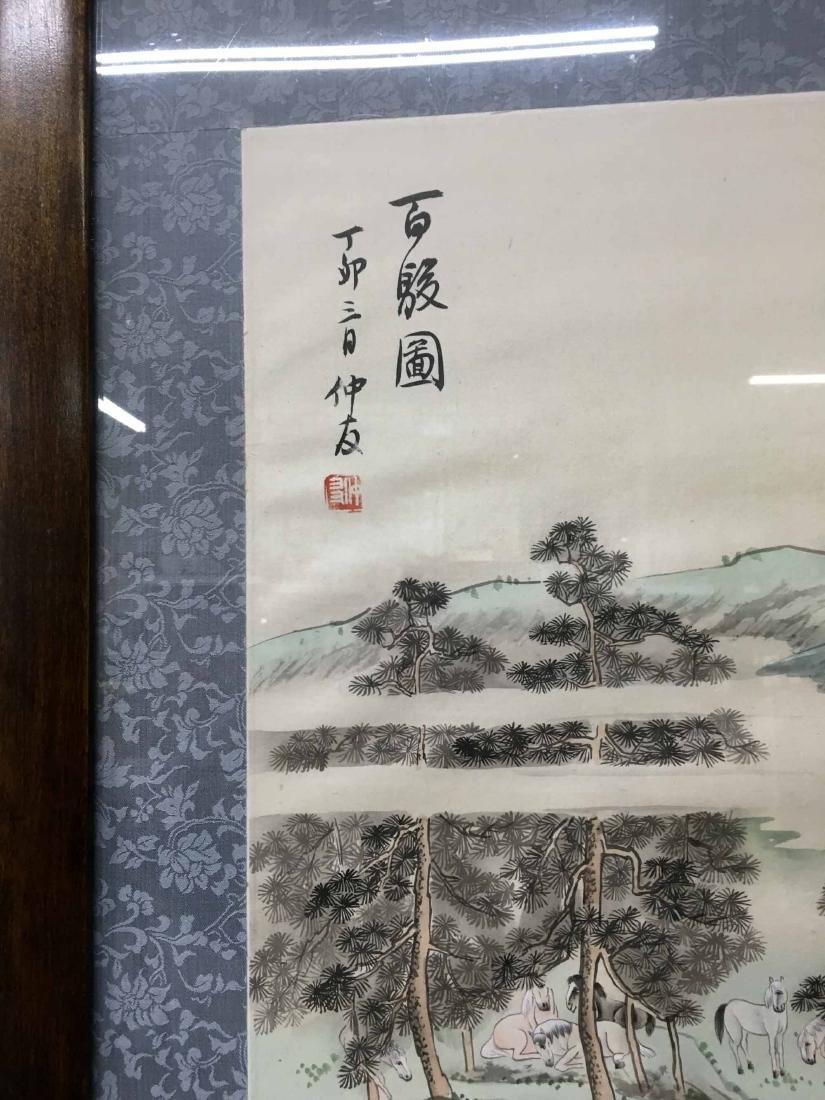 JAPANESE MIXED MEDIA ON FABRIC - 3