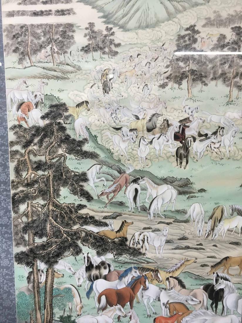 JAPANESE MIXED MEDIA ON FABRIC - 4