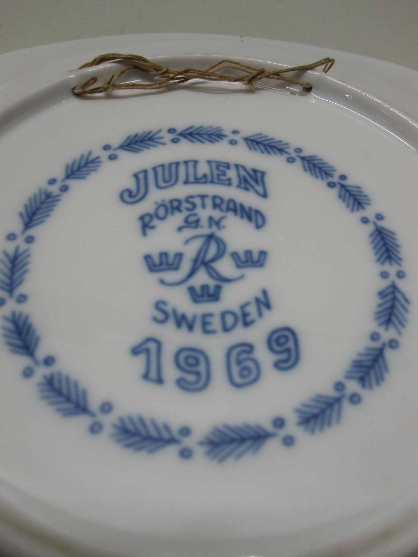 1969 JULEN RORSTRAND COLLECTORS PLATES - 5