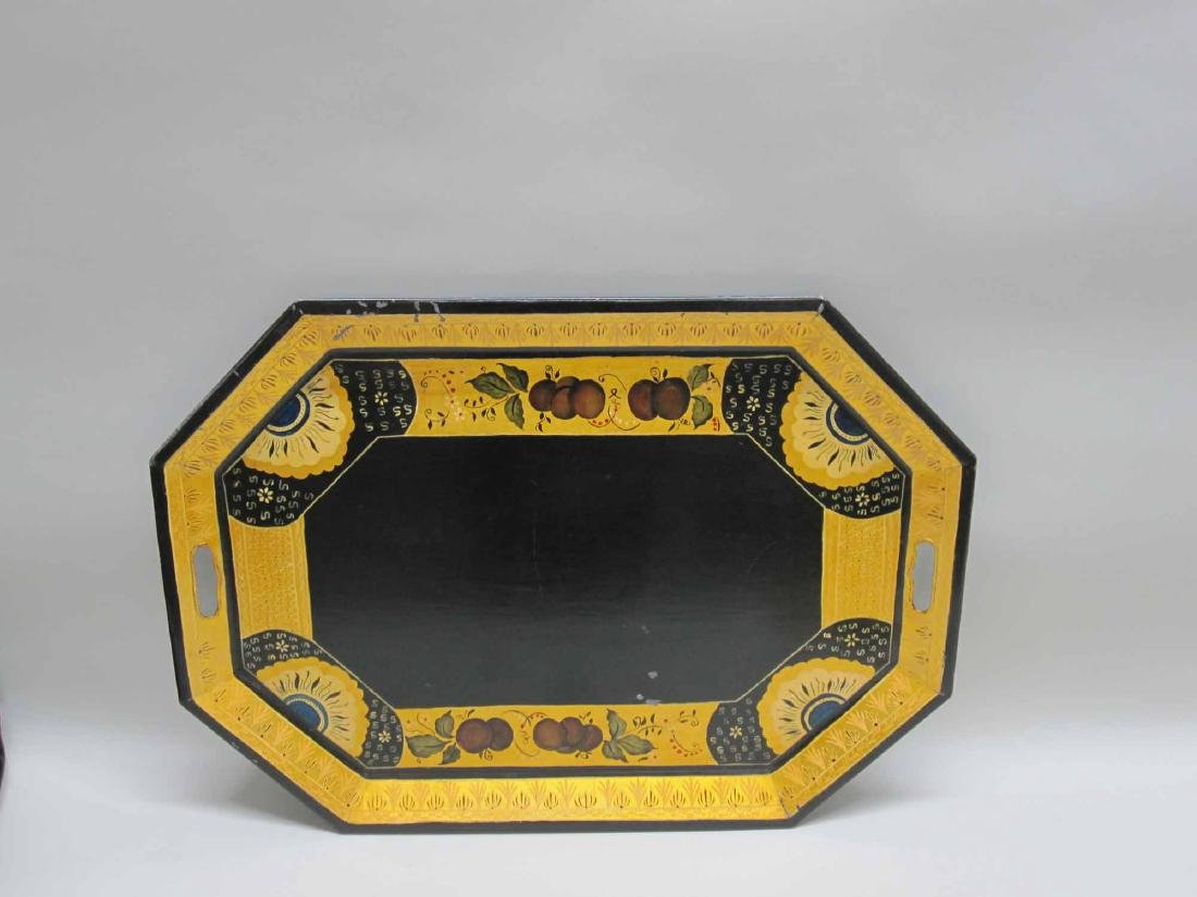 TOLEWARE STYLE SERVING TRAY