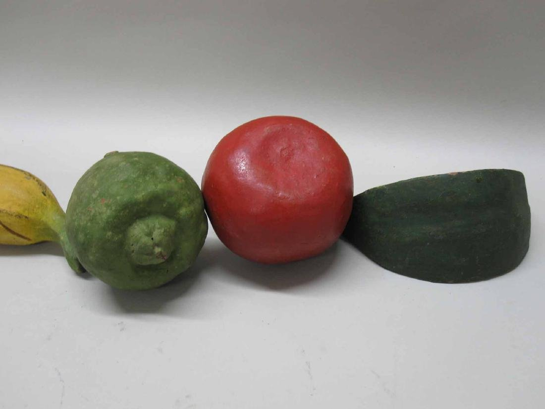 ASSORTED CERAMIC FRUIT AND VEGETABLES - 3
