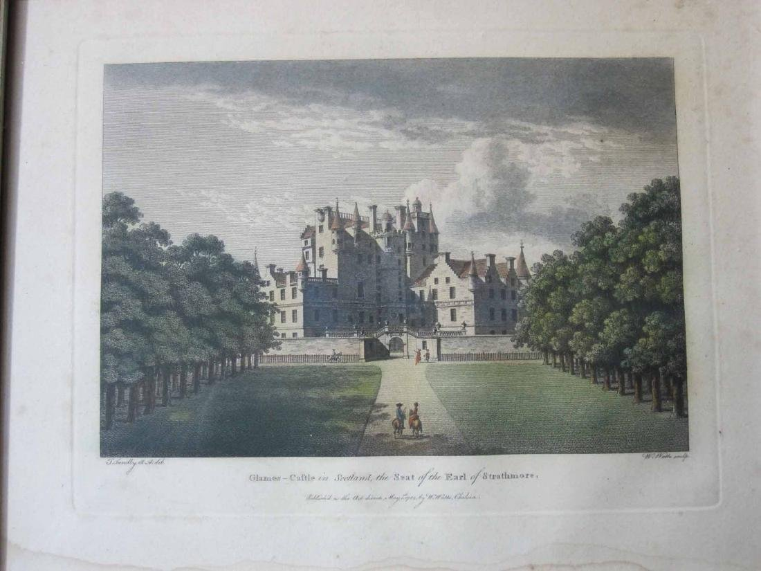 FOUR ENGLISH AND SCOTTISH CASTLE PRINTS - 3