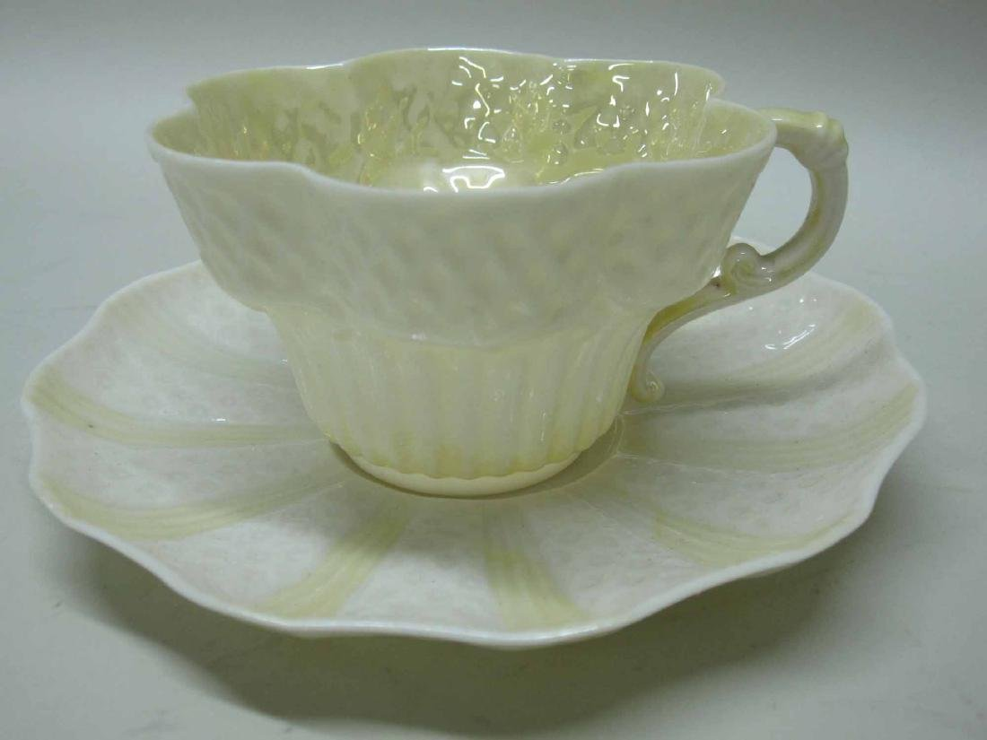 GROUP OF BELLEEK PORCELAIN - 4