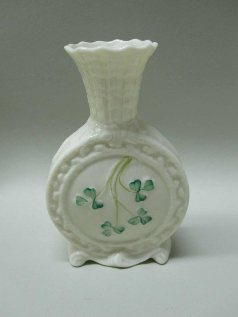 GROUP OF BELLEEK PORCELAIN - 3