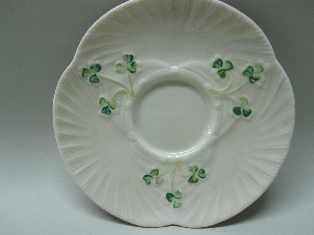 GROUP OF BELLEEK PORCELAIN - 5