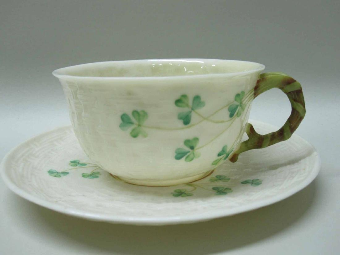 GROUP OF BELLEEK PORCELAIN - 6