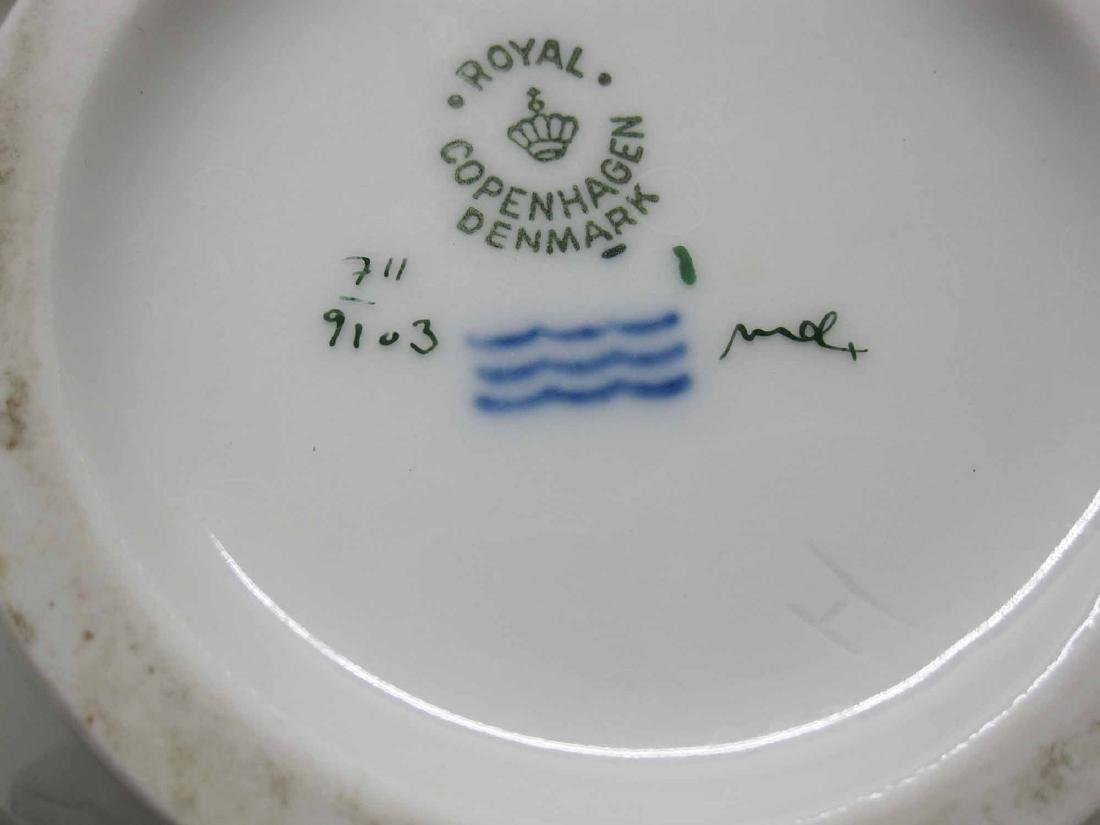PARTIAL ROYAL COPENHAGEN PORCELAIN DINNER SERVICE - 5