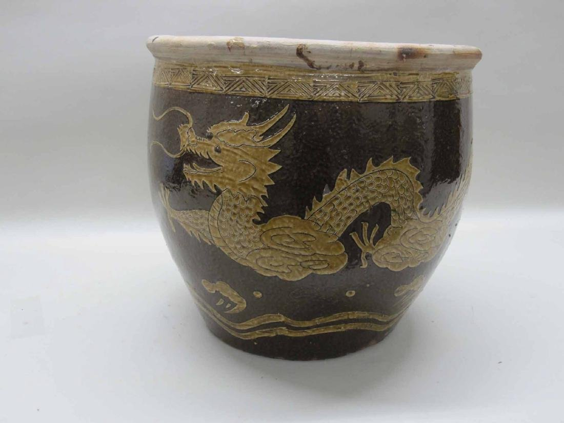 CHINESE CERAMIC CACHE POT
