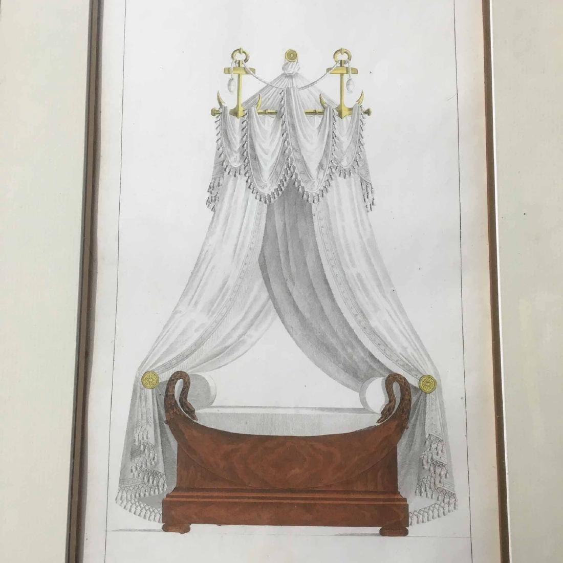 """TWO FRENCH PRINTS, """"FURNITURE ITEMS OF TASTE"""""""