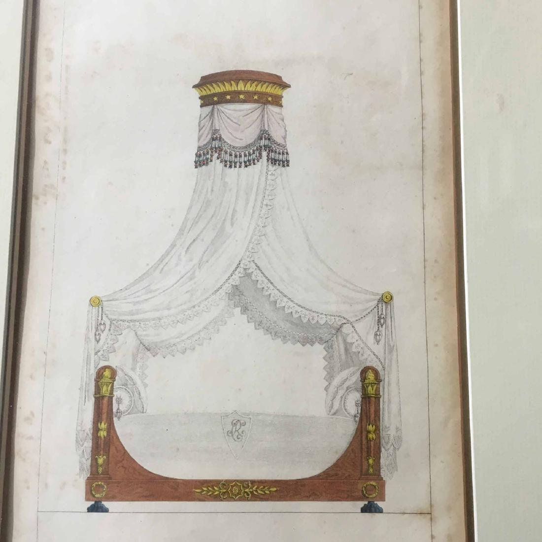"TWO FRENCH PRINTS, ""FURNITURE ITEMS OF TASTE"" - 2"