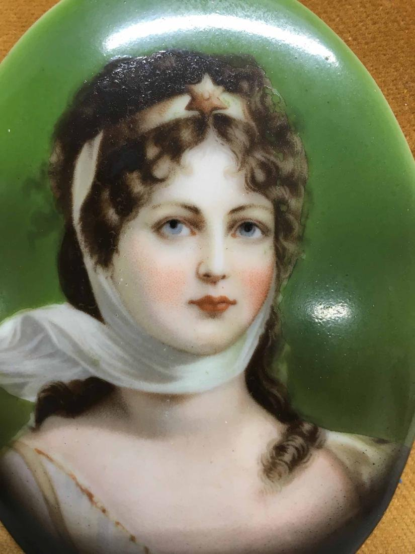 PORTRAIT PRINT ON PORCELAIN PLAQUE - 2