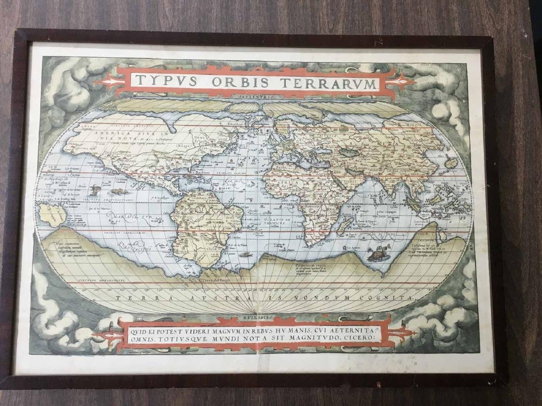 """MAP PRINT, """"TYPUS ORBIS TERRARUM"""""""
