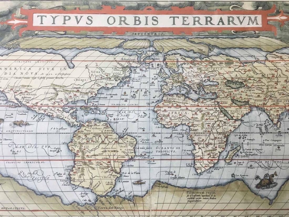 """MAP PRINT, """"TYPUS ORBIS TERRARUM"""" - 2"""