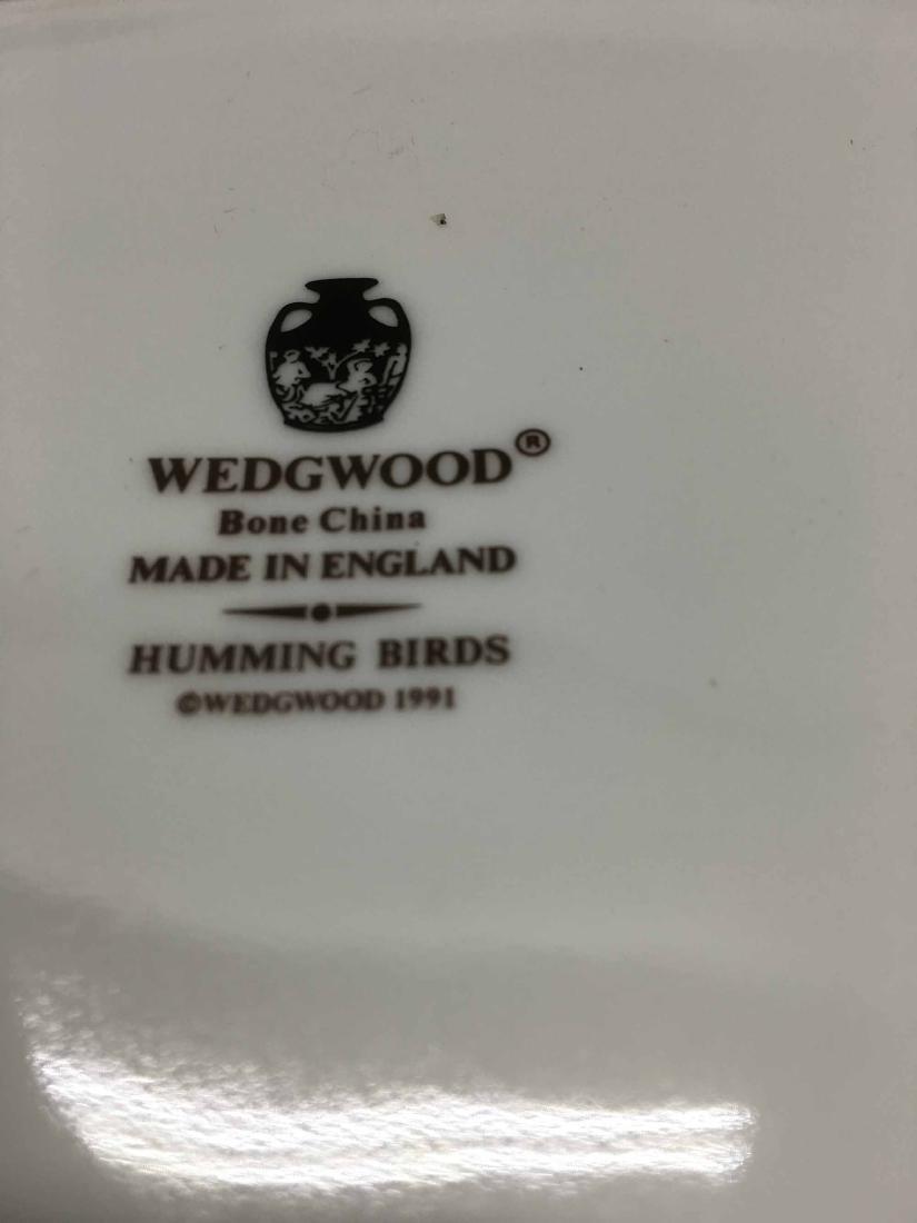 WEDGWOOD COVERED HUMMINGBIRDS CARD BOX - 5