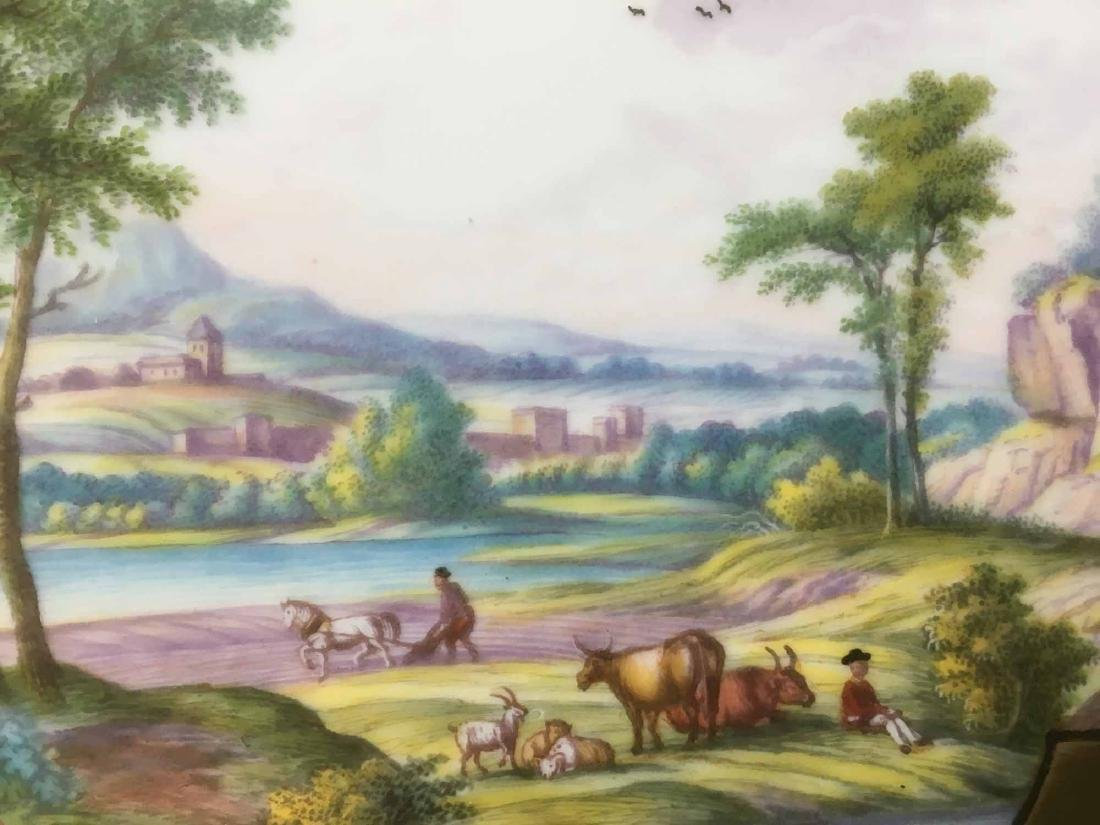 MEISSEN HAND PAINTED TRAY - 2