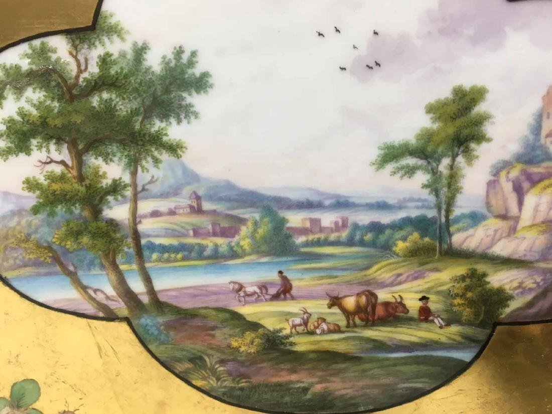 MEISSEN HAND PAINTED TRAY - 5
