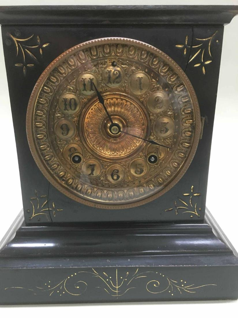 ANSONIA MANTLE CLOCK - 2