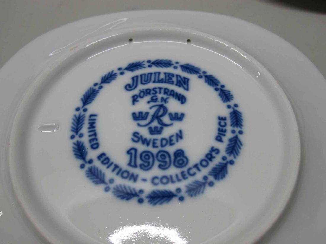 1990-1999 JULEN RORSTRAND COLLECTORS PLATES - 3