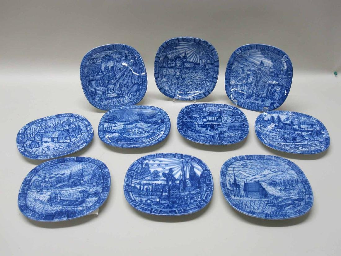 1990-1999 JULEN RORSTRAND COLLECTORS PLATES - 4