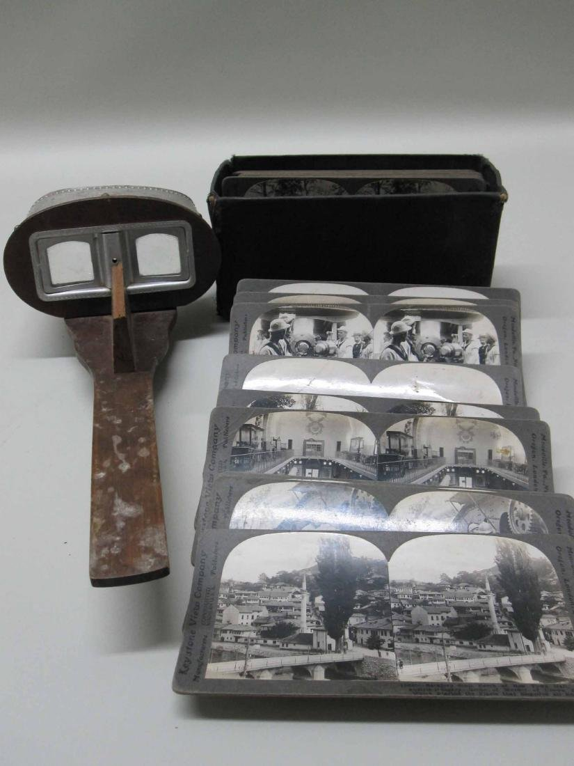 WORLD WAR I STEREO VIEWING CARDS KEYSTONE VIEWING